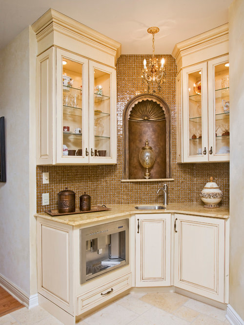 Best Victorian Kitchen With Travertine Floors Design Ideas Remodel Pictures Houzz