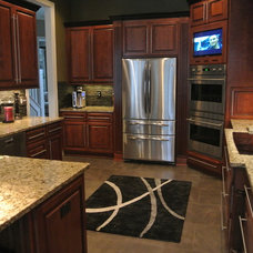 Traditional Kitchen by Cabinet Crafters