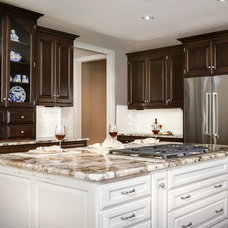 Transitional Kitchen by Design Connection, Inc