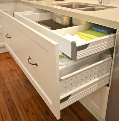 Transitional Kitchen by Kitchens by Emanuel