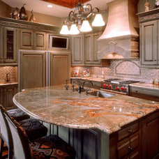 Traditional Kitchen by Olde World Cabinetry
