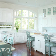 Beach Style Kitchen by Signature Kitchens & Baths of Charleston, Inc.