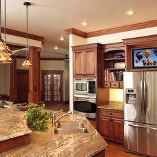 Traditional Kitchen by Cabinetry Plus