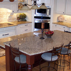 Traditional Kitchen by Calgary Bathworks