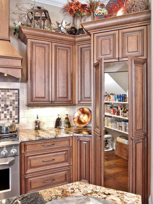 Hidden Walk In Pantry Houzz