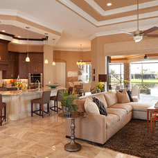 Contemporary Kitchen by Christopher Burton Homes, Inc.