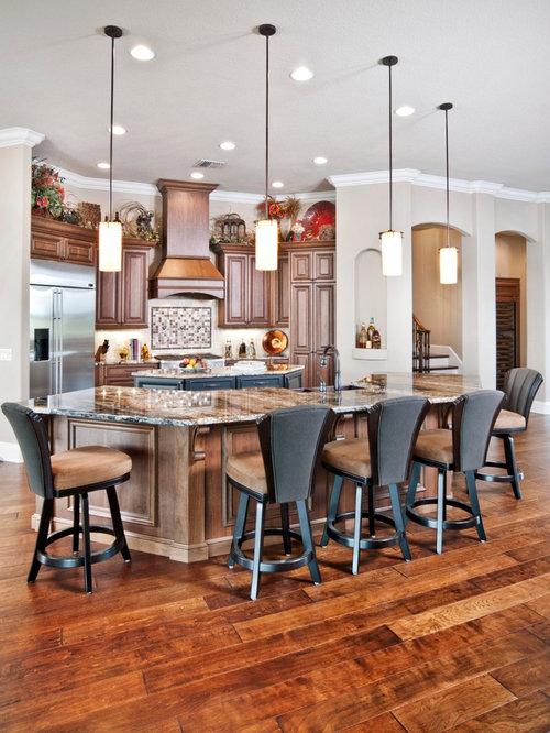 Küchen mit zwei Kücheninseln in Orlando Ideen, Design & Bilder | Houzz