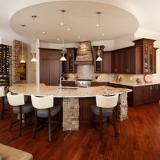 Transitional Kitchen by Christopher Burton Homes, Inc.