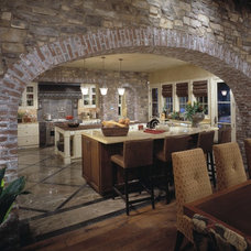 Traditional Kitchen by Christopher Homes