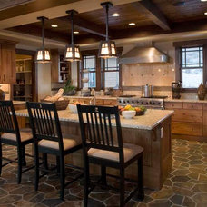 Craftsman Kitchen by Christopher Homes