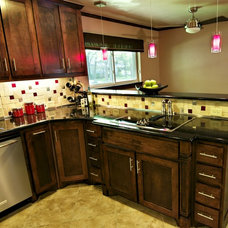 Traditional Kitchen by Christopher Sandlin Homes & Remodeling