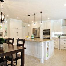 Transitional Kitchen by Christopher Sandlin Homes & Remodeling
