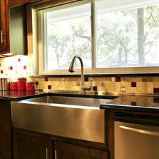 Eclectic Kitchen by Christopher Sandlin Homes & Remodeling