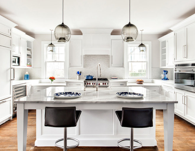 Transitional Kitchen by Clean Design