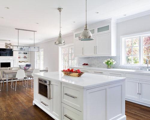 Benjamin Moore Shoreline Kitchen Design Ideas Remodels