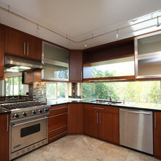 Contemporary Kitchen by Contemporary Bath Kitchen and Lighting Center