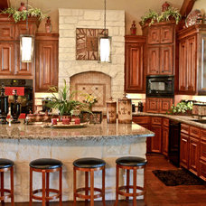Traditional Kitchen by Copper Basin Custom Homes