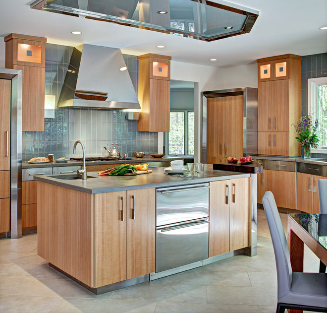 Contemporary Kitchen by Craft Fabricators