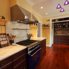 Traditional Kitchen by Cusano Associates Architecture + design
