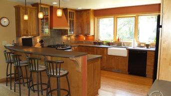 Kitchens   CustomCreteWerks