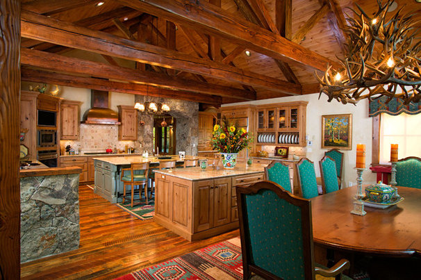 Traditional Kitchen by Dann Coffey Photography