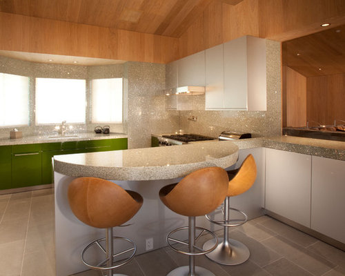 Curved Countertop | Houzz