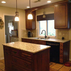 Traditional Kitchen by DATE Construction, Inc