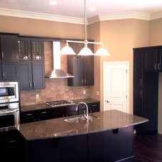 Traditional Kitchen by DB Klain Construction, LLC