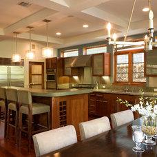 Contemporary Kitchen by DesignBlue, Inc.