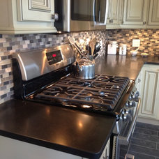 Traditional Kitchen by Dev Group Construction LLC