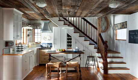 Cocinas rústicas blancas: ¿Por qué nos gustan tanto?