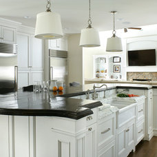Traditional Kitchen by Durso Construction Management