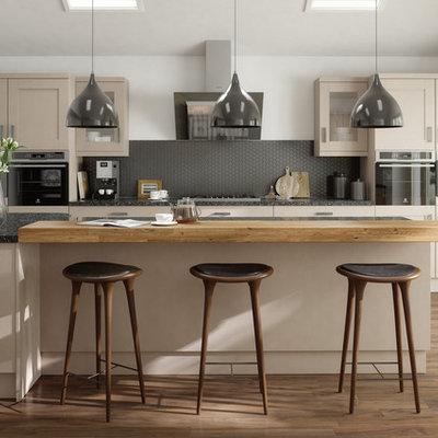 Kitchen - 1960s kitchen idea in Other