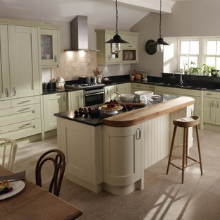Inspiration for a traditional kitchen in Other.