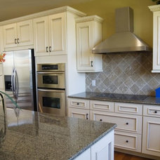 Traditional Kitchen by Empire Countertops, LLC