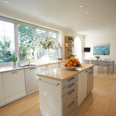 Modern Kitchen by Fiona Terry Designs