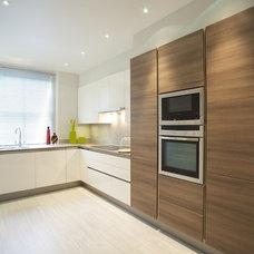Modern Kitchen by Fiona Terry Designs