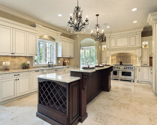 Shabby-Chic Style Galley Kitchen Design Ideas, Renovations