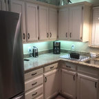 how to install a backsplash in kitchen soothing white and gray kitchen remodel traditional 9414