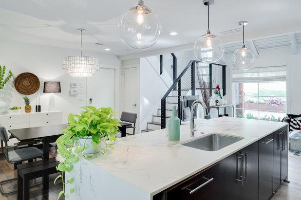 Moderne Cuisine by Green Basements & Remodeling