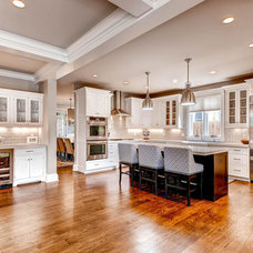 Traditional Kitchen by Gunlock Homes
