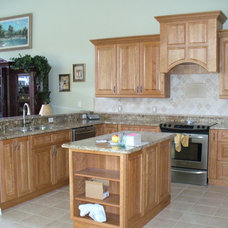 Traditional Kitchen by Home Improvement Source