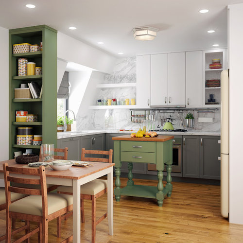 Frameless Kitchen Cabinets: Kitchens In Millennia Frameless Cabinets