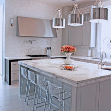 Contemporary Kitchen by International Stone Collections