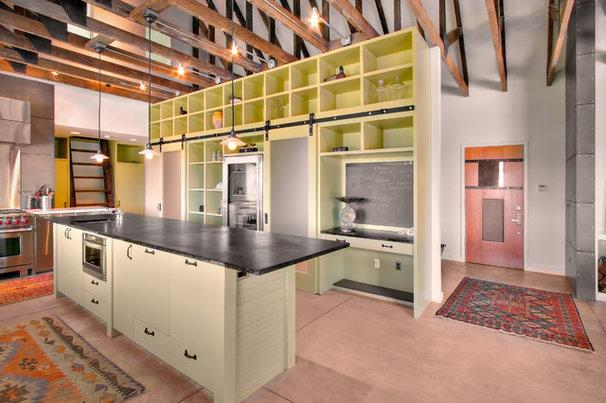 Farmhouse Kitchen by J.A.S. Design-Build