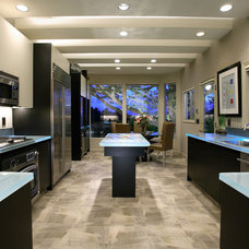 Contemporary Kitchen by J. Hettinger Interiors