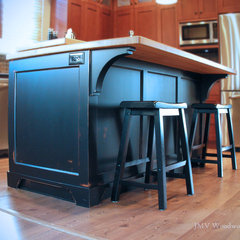 traditional kitchen by Jmv Woodworks