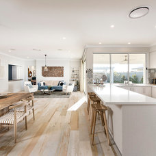 Beach Style Kitchen by Jodie Cooper Design