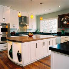 Contemporary Kitchen by Juli Baier Interior Design