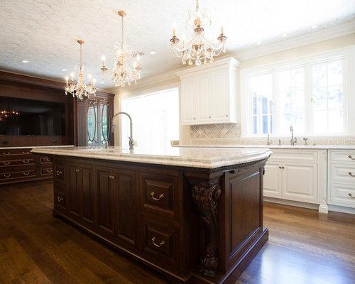 cuisine victorienne avec un plan de travail en quartz photos et id es d co de cuisines. Black Bedroom Furniture Sets. Home Design Ideas